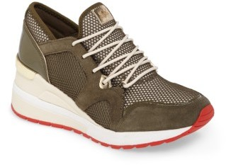 Women's Michael Michael Kors Scout Wedge Sneaker $144.95 thestylecure.com