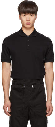 Givenchy Black Slim Fit Logo Polo
