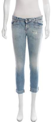 Each X Other Low-Rise Cropped Jeans