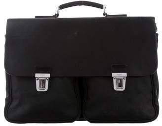 Tumi Leather & Nylon Briefcase
