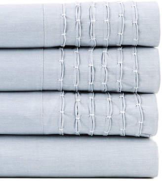 Belle Epoque Pintuck Chambray Sheet Set