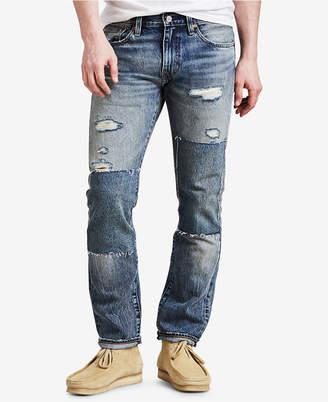 Levi's 511 Slim Fit Non Stretch Selvedge Jeans