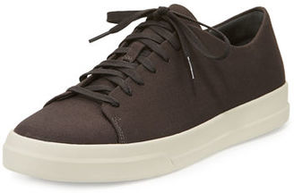 Vince Copeland 2 Canvas Low-Top Sneaker $195 thestylecure.com