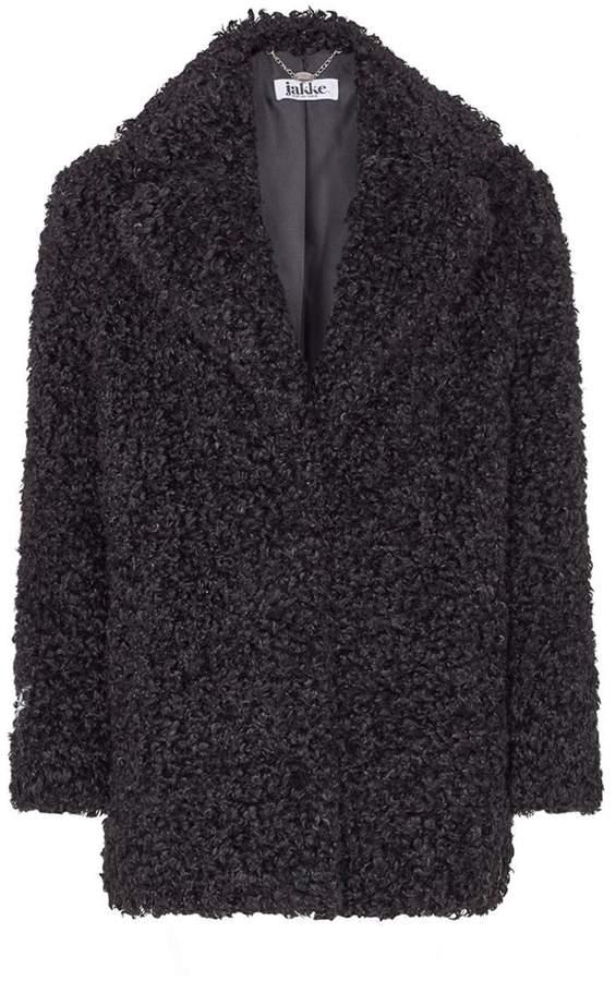Jakke Curly Fur Coat