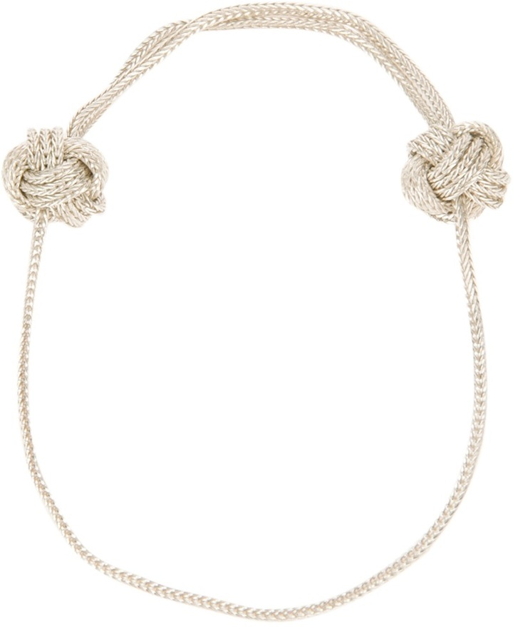 Saskia Diez knot bracelet