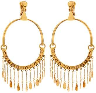 Chloé Quinn large charm earrings