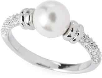 Swarovski Silver-Tone Enlace Ring