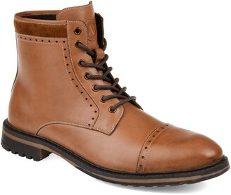 Thomas Laboratories AND VINE Briggs Lugged Cap Toe Boot