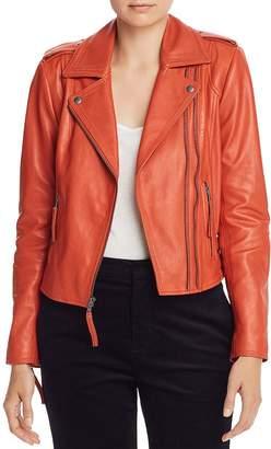 Joie Leolani Leather Moto Jacket