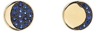 Pamela Love Fine Jewelry Women's Moon Phase Mismatched Stud Earrings