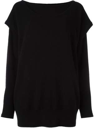 Loewe cashmere layered jumper