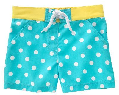Polka Dot Board Short