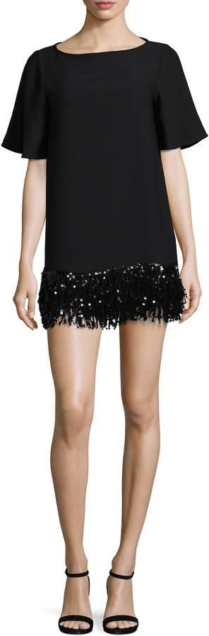 Kate Spade New York Women's Sequin Fringe Tunic