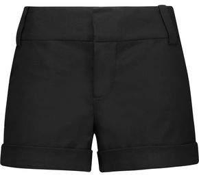 Alice + Olivia Stretch Cotton-Blend Canvas Shorts