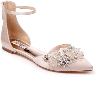Badgley Mischka Collection Abby Ankle Strap Flat