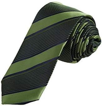 Pink Grey Skinny Tie Woven Microfiber Exporters Presents Stripes Halloween Skinny Ties By Dan Smith