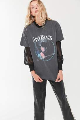 Urban Outfitters Midnight Rider Clint Black Washed Tee