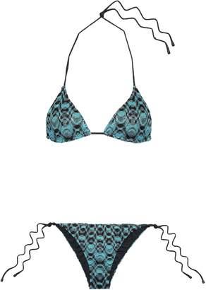 Missoni Mare Crochet-knit Triangle Bikini Top
