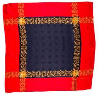 Chanel Silk Jacquard Scarf