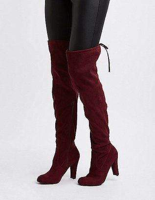 Almond Toe Over-The-Knee Boots $44.99 thestylecure.com