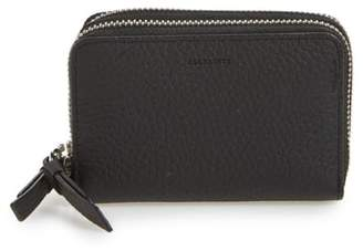 AllSaints Fetch Leather Card Holder