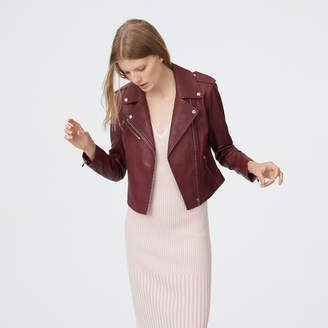 Club Monaco Gracella Leather Jacket