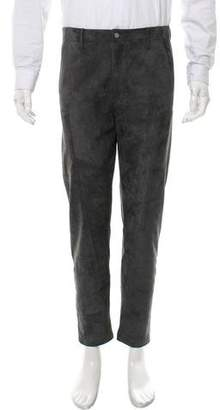Deveaux Cropped Suede Pants w/ Tags