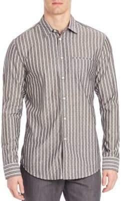John Varvatos Slim-Fit Casual Button-Down Shirt