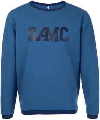 Oamc logo print jumper