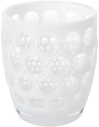 Lente Mario Luca Giusti Acrylic White Tumbler - Short