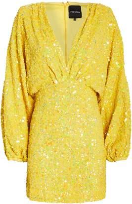 retrofete Aubrielle Sequin Mini Dress