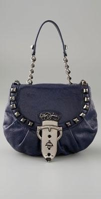 Betsey Johnson Handbags Strap Em Down Flap Shoulder Bag