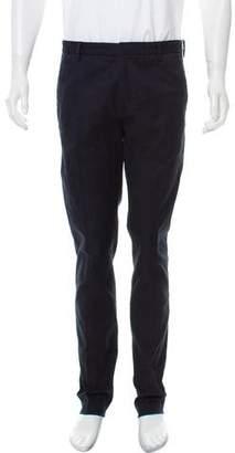 Fendi Woven Flat Front Pants