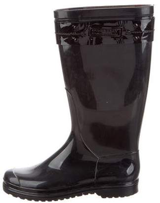 Burberry Rubber Mid-Calf Boots