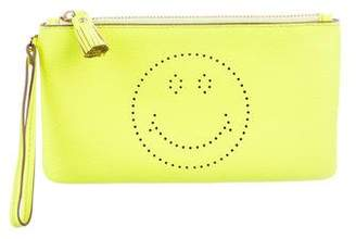 Anya Hindmarch Smiley Zip Pouch