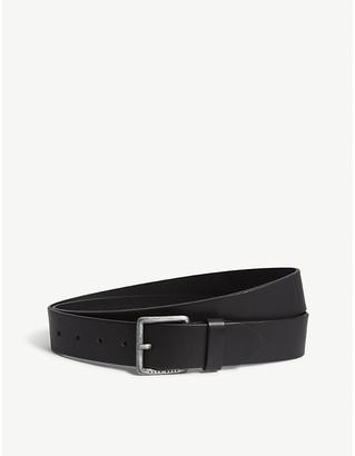 BOSS Casual leather belt