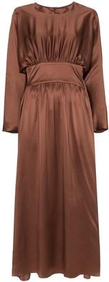 Deitas Hermine ruched detail dress