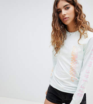 Vans Exclusive Oversized Mint Circle V Long Sleeve T-Shirt