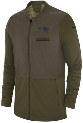 Nike Men's New England Patriots Salute To Service Elite Hybrid Jacket