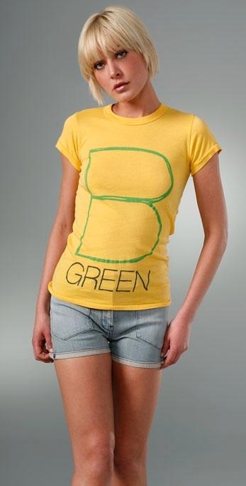 ZOOEY and Love & Eight 'B Green' Tee