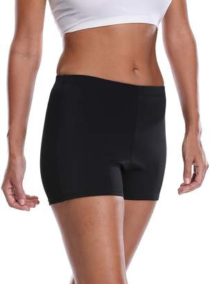 ALove Women's Tankini Swim Shorts Active Workout Fitness Shorts Navy