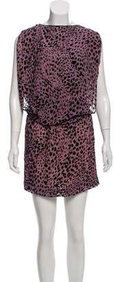 Jasmine Di Milo Textured Animal Print Dress