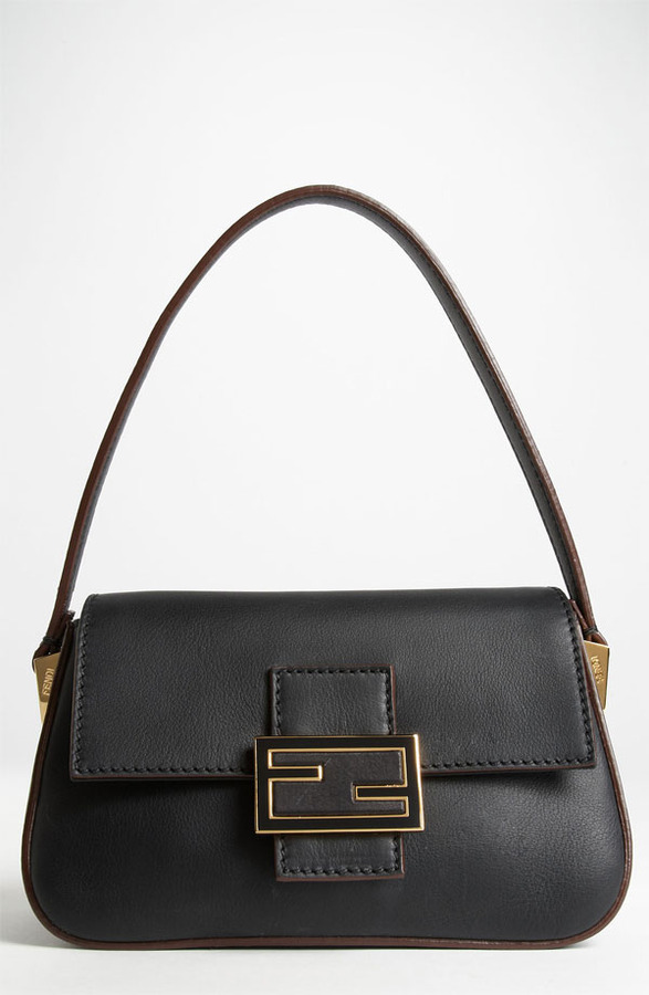 Fendi 'Mamma - Mini' Leather Shoulder Bag
