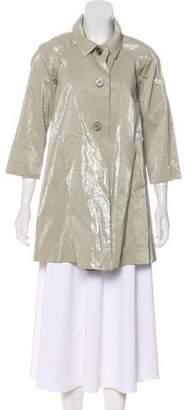 Rozae Nichols Coated Linen Coat