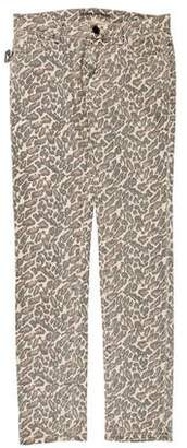 Zadig & Voltaire Mid-Rise Printed Jeans