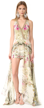 Camilla Girls in the Garden Wrap Romper $650 thestylecure.com