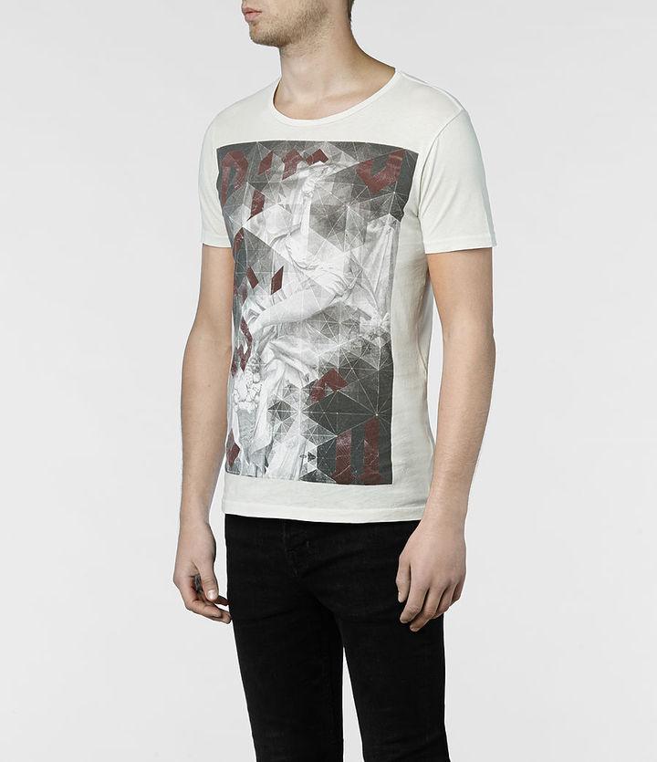 AllSaints Folds Tonic Crew T-shirt