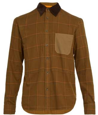 Rag & Bone Chore Cotton Twill Shirt - Mens - Brown