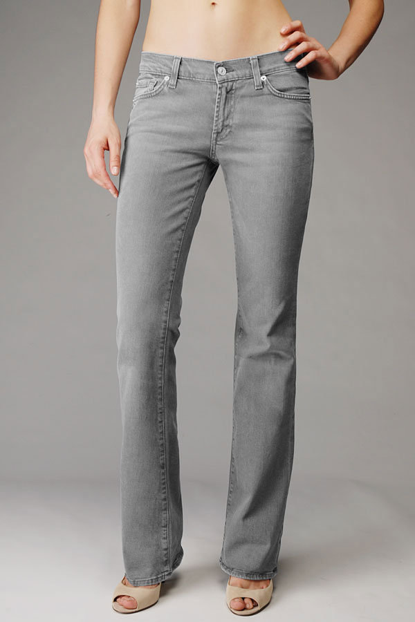 Bootcut With Crystals In Grey