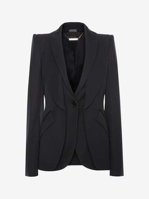 Alexander McQueen Double Lapel Tailored Jacket